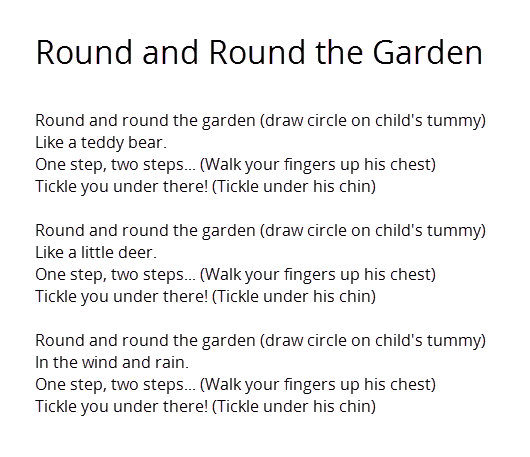 Nursery Rhymes To Sing With Your Baby